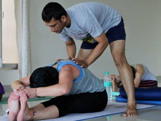 41 Tage 500-Stunden Yogalehrer Ausbildung in Rishikesh, Indien