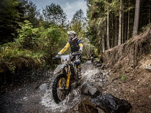 6 Days Dracula Trail Guided Enduro Motorcycle Tour in Sighisoara, Romania