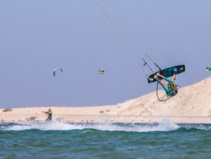 8 Days Refreshing Yoga Vacation and Kite Surf Camp Dakhla, Morocco