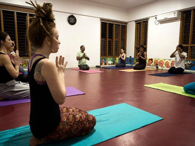 28-Daagse 300-urige Yoga Docentenopleiding in Mysore, India