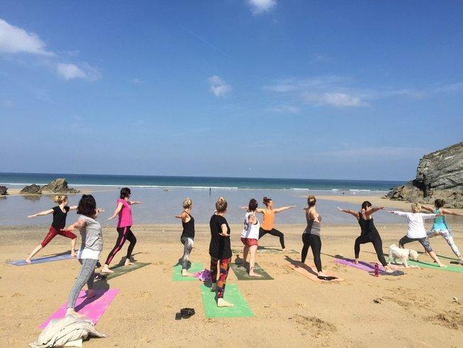4-Daagse Schijn Yoga Retraites in Cornwall, VK