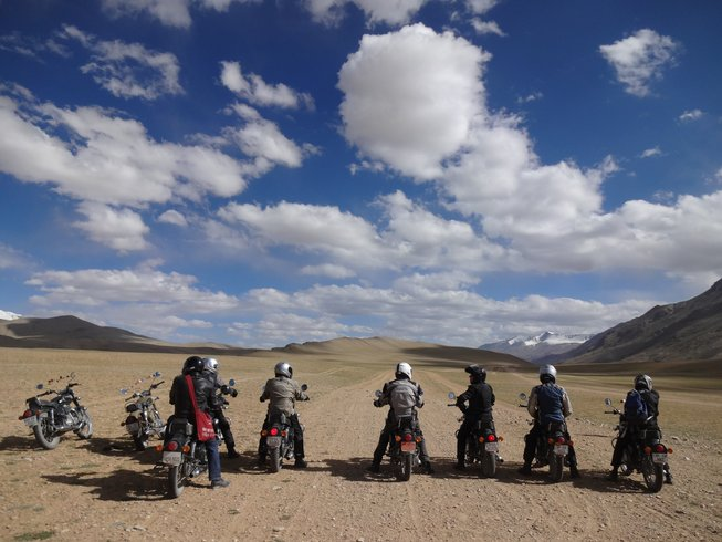 15 Days Royal Enfield Motorcycle Tour Himalaya, India