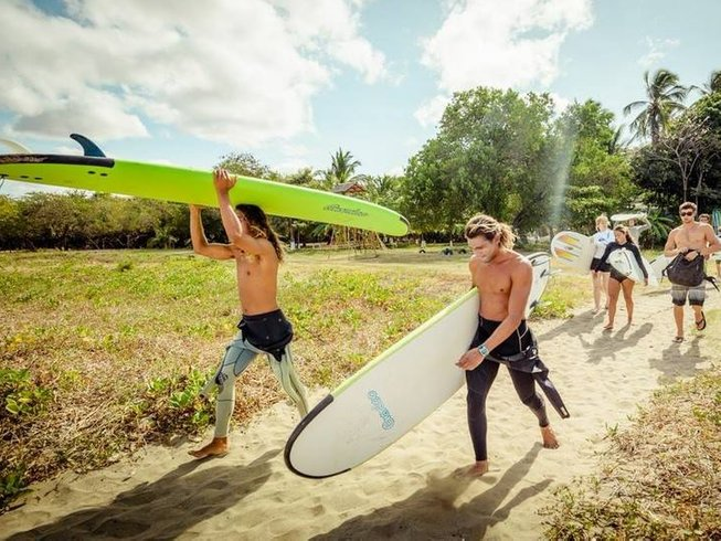 7 Days Beginner Surf Camp in Costa Rica