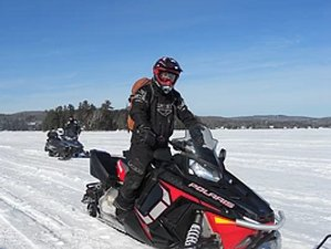 3 Day Guided The Backpacker Snowmobile Tour in Quebec, Canada