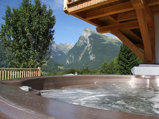 4 Tage Luxus Yoga Retreat in Samoens, Frankreich