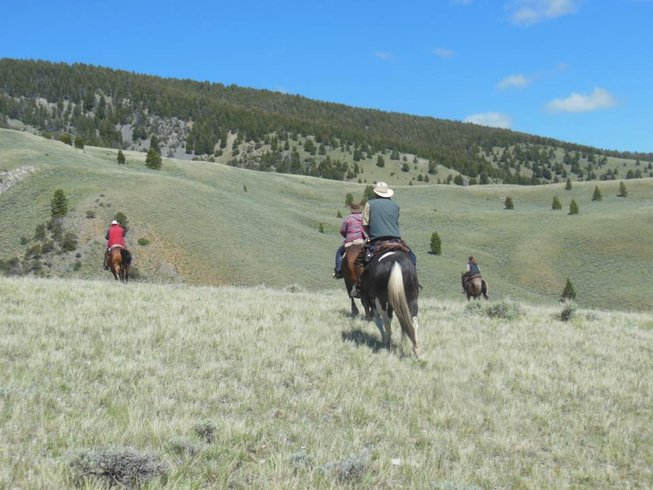 7 Days World Famous Horse Drive Ranch Vacation in Idaho, USA