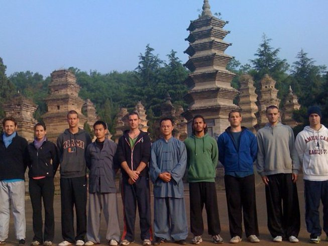 2 Months Kung Fu Training in Siping, China
