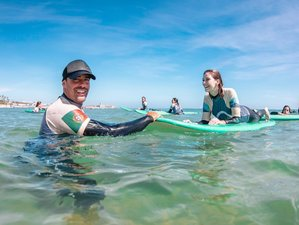 5 Day Full Pack Surf Camp in Cascais with 1 Yoga Lesson