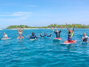 14 Days Surf Camp with Daily Boat Trips in Himmafushi, Maldives