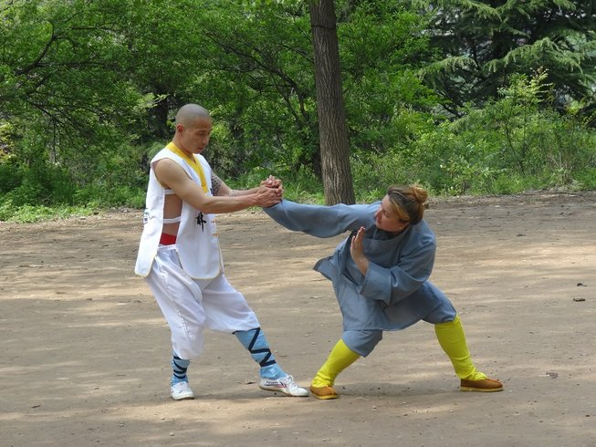 1 Year Kung Fu Training with Shaolin Warrior Monk in China