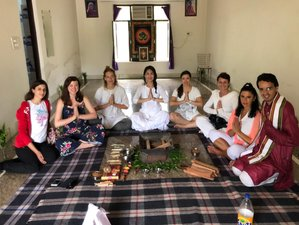 22 Days 200-Hour Yoga Teacher Training Course in Rishikesh, India