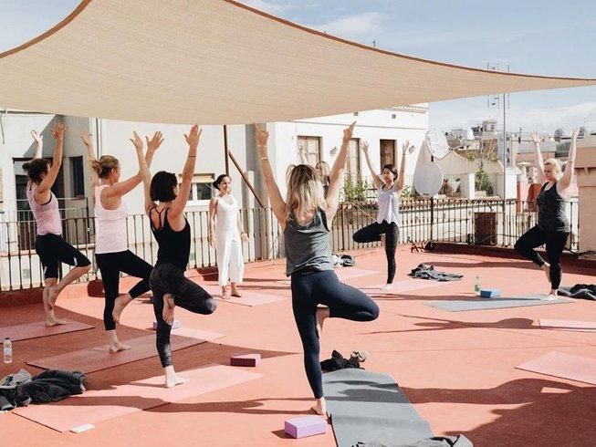 657387c26c1 6 jours en stage de yoga urbain à Barcelone