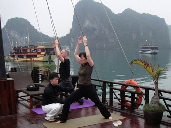 14 Days Yoga Adventure in Halong Bay, Vietnam
