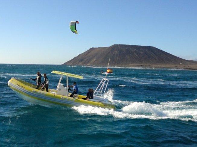 8 Days Red Shark Kitesurf Camp in Camp House Casa Norte, Villaverde,Fuerteventura, Spain