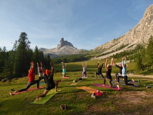 6 Day Mindful Hiking and Yoga Holiday in South Tyrol, Province of Belluno