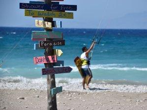8 Day Advanced Kite Surf Camp Rhodes