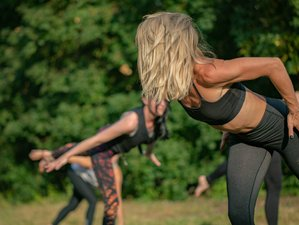 5 Tage Feel Good Yoga Retreat mit Meditation im Eco Resort Into the Green im Steigerwald