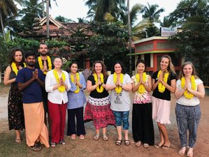 28 Days 200-Hour Ashtanga Vinyasa and Hatha Yoga Teacher Training in Varkala, India