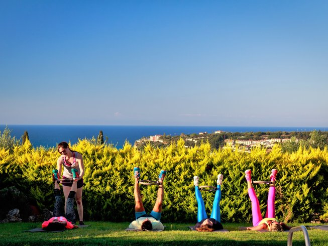 7 Days  Transformation Weight loss Fitness & Yoga Retreat in Zakynthos, Greece