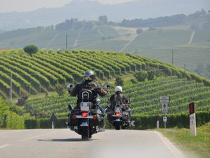 4 Day Guided Weekend Break Motorcycle Tour in Piedmont, Italy