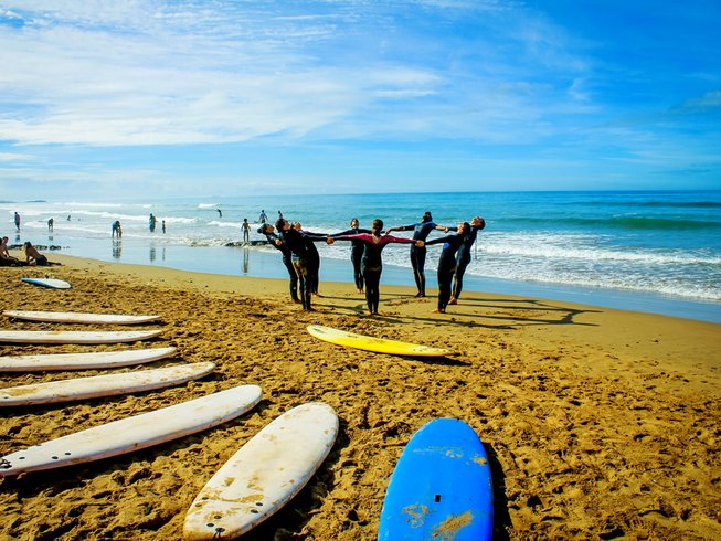 7 Days Mind-Blowing Surf Camp in Tamraght, Morocco