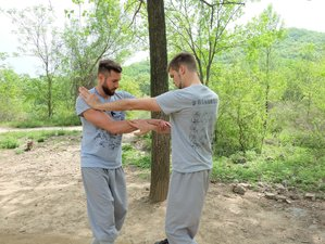 6 Months traditional Shaolin Kung Fu in Song mountain of Original Shaolin temple with Monks