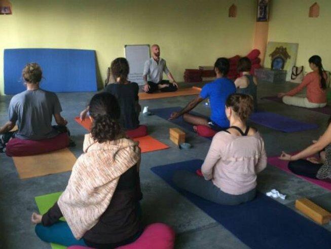28 días 200 horas profesorado de yoga y cuidado de la salud en Dharamsala, India