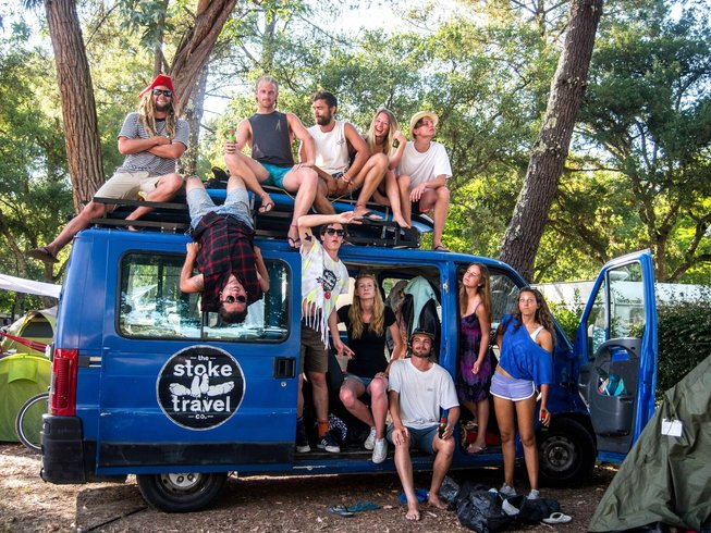 4 Days Van Surfari and Surf Camp France and Spain