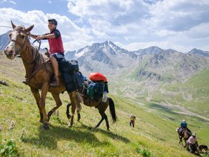 12 Day Horse Riding Holiday to the Heart of Heavenly Mountains in Kyrgyzstan