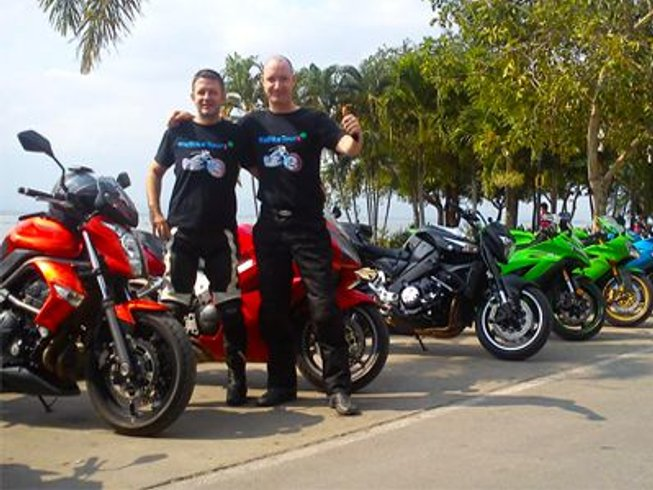 10 Days Amazing Loop Motorcycle Tour in Thailand