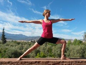 8 jours en stage de yoga Iyengar avec Gaetane Valazza dans la vallée de l'Ourika, Maroc