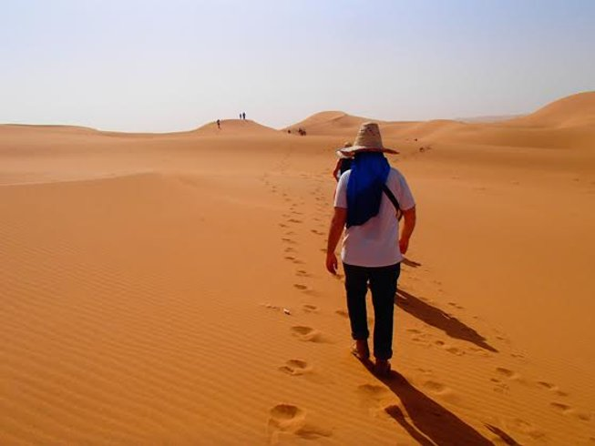 8 Days Desert Trekking and Yoga Retreat in Taroudant, Morocco