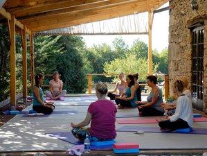 8-Daagse Inspirerende Yoga Retraite in Occitanie, Frankrijk