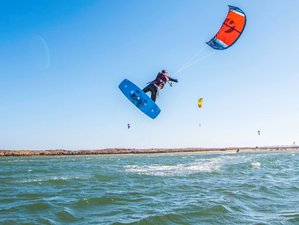 8 Days All Levels Kitesurf and Wake Camp in Algarve, Portugal