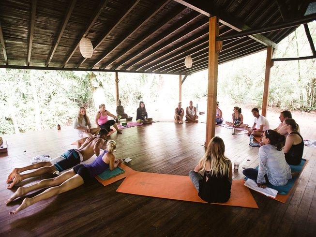 7 días retiro de yoga semanal para recargar energías en la provincia de Puntarenas, Costa Rica