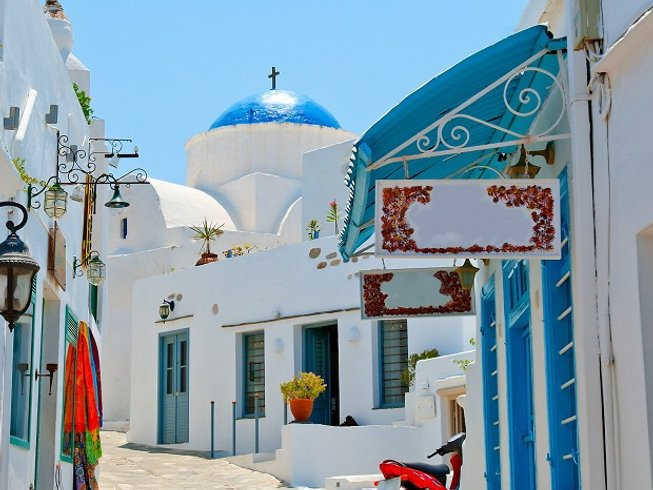 8 Days Culture and Culinary Vacations in Greece