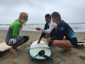 4 Days Surf Camp for All Levels in the World's Famous Point Break, Montanita, Ecuador