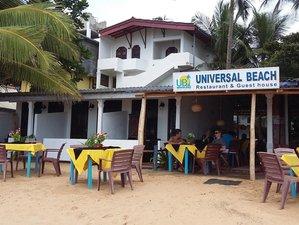 Universal Beach Guest House in Hikkaduwa, Sri Lanka