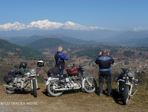 8 Day Guided Motorcycle Tour in Central and Western Nepal