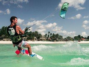 """8 Tage Kitesurfing und Wavesurfing """"Get salty"""", tropisches Inselerlebnis auf Sansibar"""