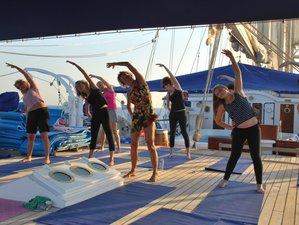 7 jours de croisière à la voile, yoga et méditation en Italie