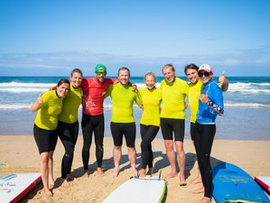 8 Day Surf and French: Surf Camp and Immersive French Education in Capbreton, Landes