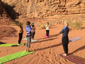 8 Days Hiking and Yoga Meditative Desert Holiday in Wadi Rum, Jordan