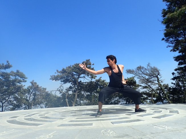 11 Months Sanda, Kungfu, Fitness Training in Tianmeng Mountains, China