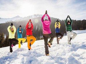 3 días de raqueta, cata de vinos, meditación y retiro de yoga en los Alpes, Francia