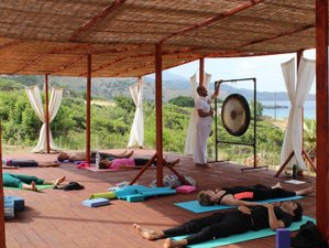 8 Days Chakra Healing Course with Diploma, Breathwork, Gong-healing, and Yoga Retreat in Greece