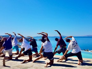 8 Day Relax, Reconnect, and Recharge Men Only Spiritual Yoga Retreat in South Crete