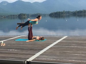 3 Day Summer Yoga Retreat in the Adirondacks, New York