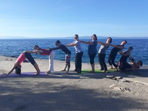 8 Days Beach-Bliss Yoga Holiday in Makarska, Croatia (English and German)