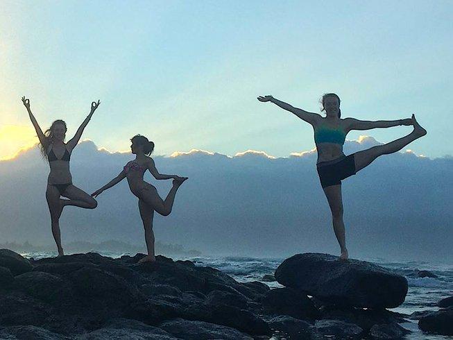 36 días profesorado de yoga de 300 horas en Hawái